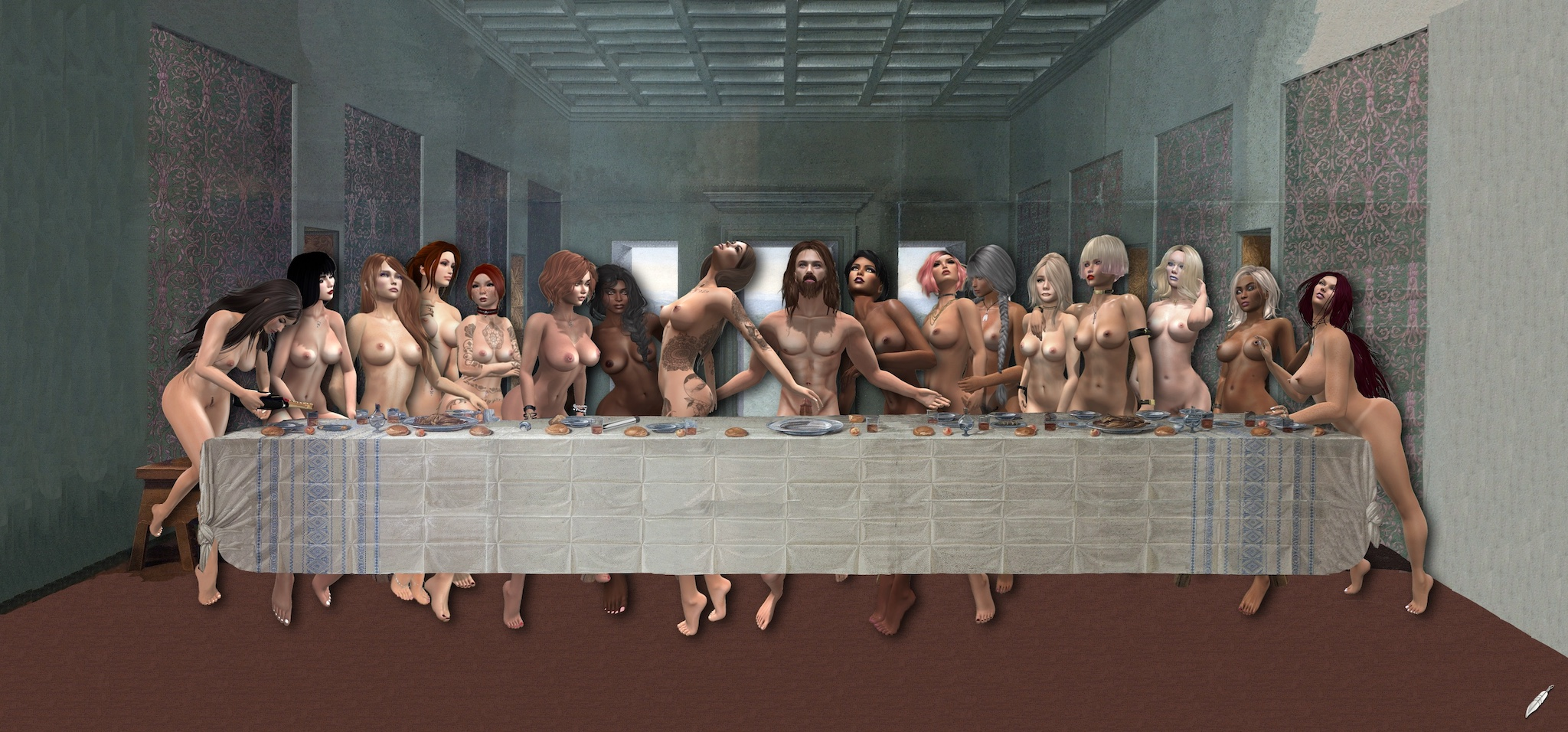 The-Last-Supper-revisited